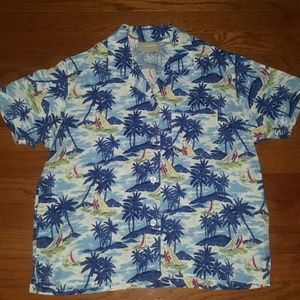 Liz Claiborne Beach Shirt